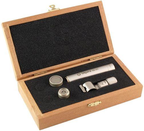 Oktava MK 012-01 Silver Wood - Mikrofon pojemnościowy małomembranowy