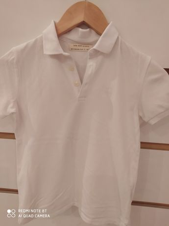 T shirt polo Zara 134 cm