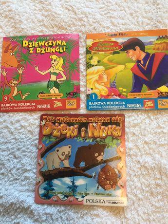 3x dvd bajki dla dzieci Disney okazja dla dziecka bajeczki