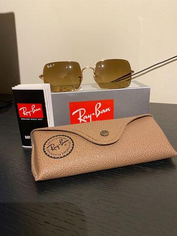Óculos Ray-Ban originais com lentes Polaroid