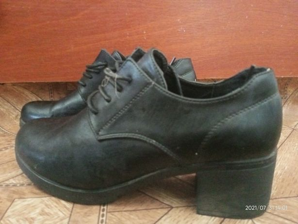 Туфли на не большом каблуке