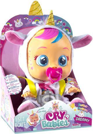 Cry Babies Плакса Дрими Единорог Dreamy the Unicorn пупсик