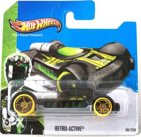 Коллекционная Hot Wheels 56/250 Retro-Active X1706