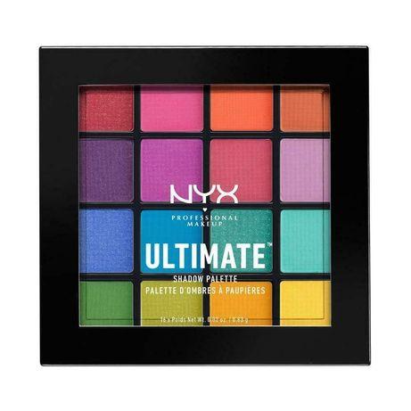 Палетка теней Nyx Professional Makeup Ultimate Shadow USP04 - Brights