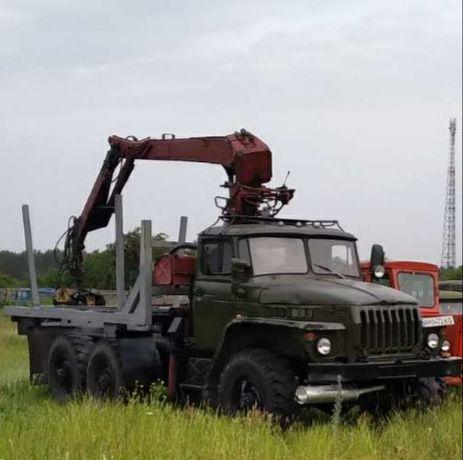 Продам Урал 42202 с манипулятором
