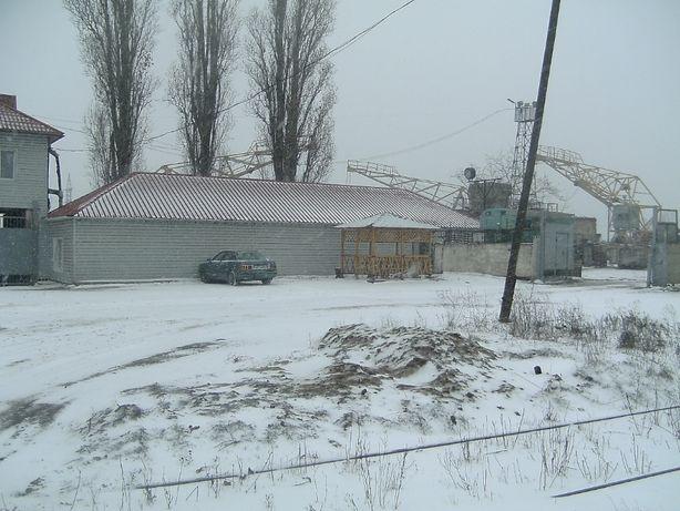 Производственная база с ЖД и прессом в Николаеве