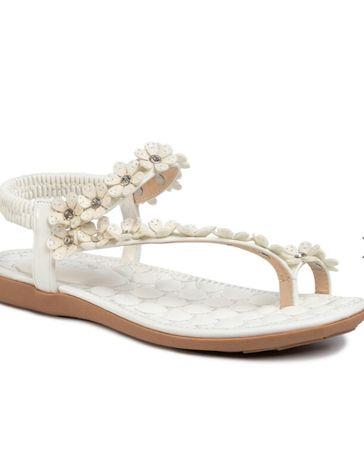 Nowe sandały Jenny Fairy biały 39