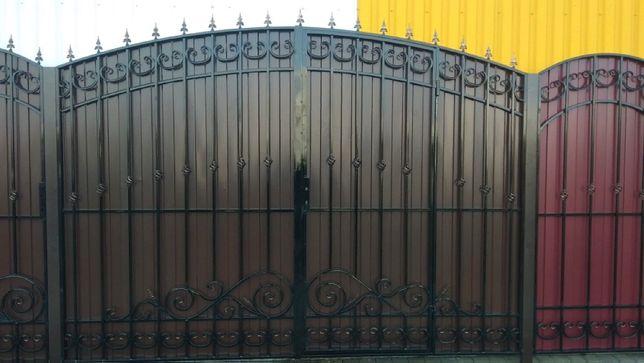"Ворота кованые ""Бастион"" (ковка) Донецк, Макеевка 38500 руб"