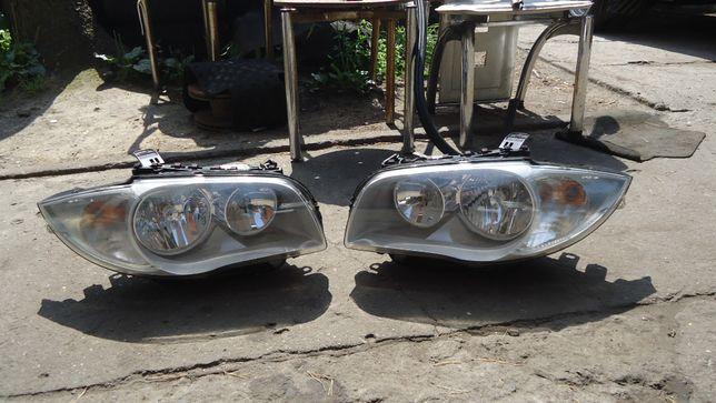Lampa przód lewa prawa BMW E87 E81