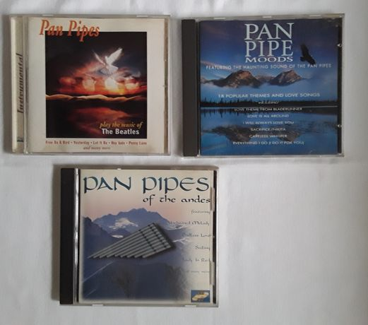 3 CDs música Pan Pipes