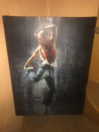 Obraz na płótnie - Tancerka