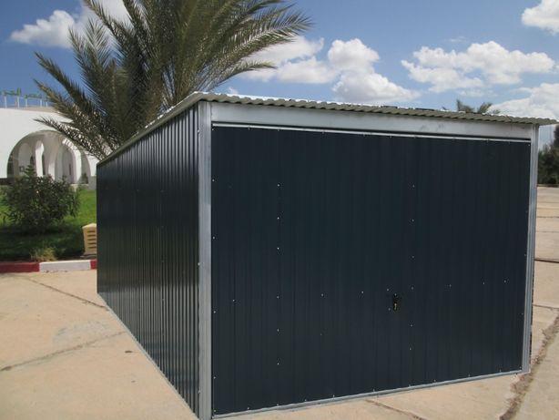 garaż konstrukcja ocynkowana