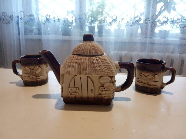 Сервиз керамический чай - кофе новый!!!