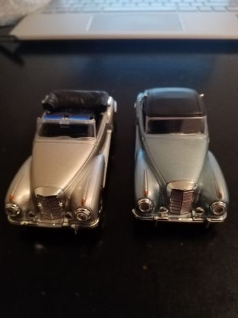 Mercedes Benz descapotável. 12 cm