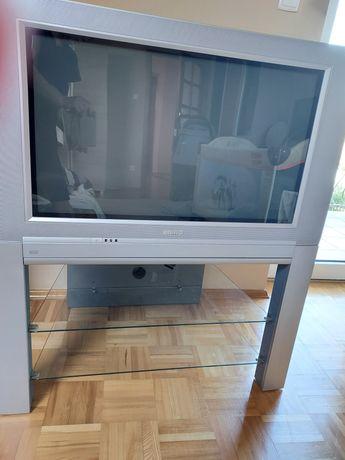 Telewizor philips 32 całe ze zintegrowanym stolikiem i dekoder Manta
