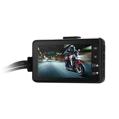 Видеорегистратор для мотоцикла с двумя камерами Leshp SE300.
