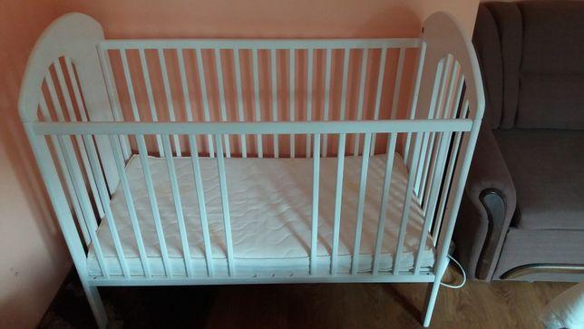 Łóżeczko dziecięce firmy Jardrew - Tymon 120x60 z materacem