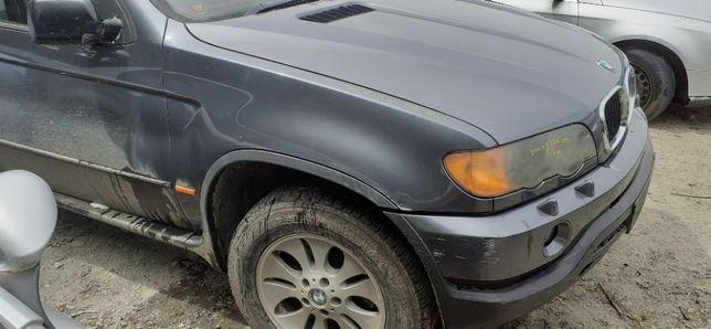BŁOTNIK Prawy Przedni Przód BMW X5 E53 99r-03r 400/7