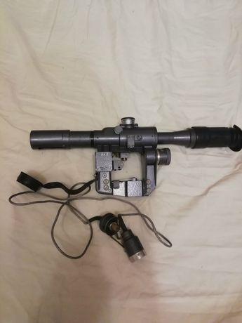 Оптический прицел ПСО-1 состояние отличное ( подсветка сетки и чехол)