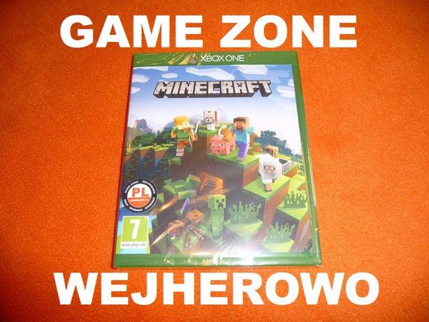 Minecraft Xbox One + S + X = PŁYTA PL = Wejherowo = NOWA zafoliowana