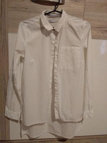 Wyprzedaż szafy - biała długa koszula House rozm S