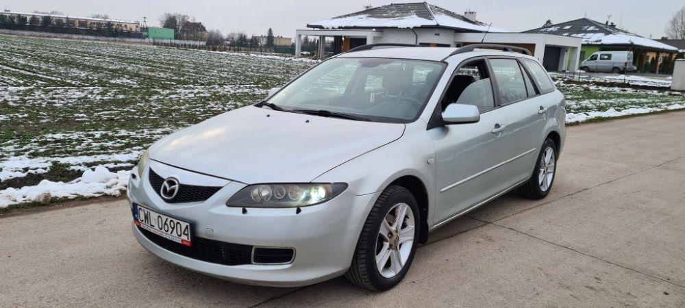 Mazda 6 LIFT 2.0 diesel 2007rok skóry climatronic okazja !!! Brześć Kujawski - image 1