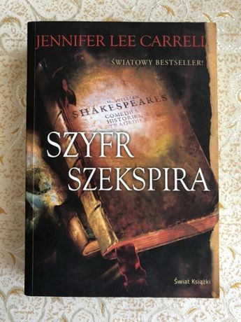 "Jennifer Lee Carrell ""Szyfr Szekspira"""