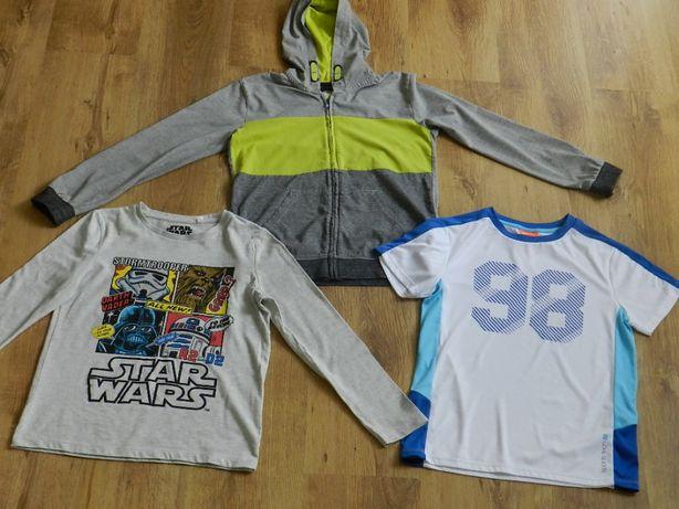 Chłopiec rozm 140 bluza z kapturem, bluzka Star Wars, t-shirt sportowy