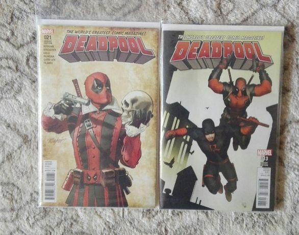 Komiksy Marvel Deadpool [zeszyty]