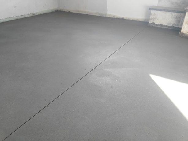 СТЯЖКА підлоги (напівсуха), стяжки пола