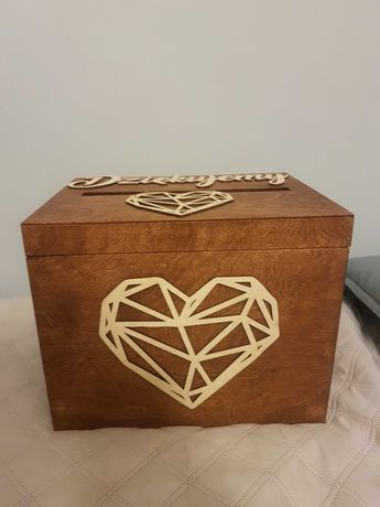 Pudełko na koperty ślub
