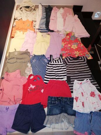Duża paka,zestaw ubrań dziewczęcych 104-116