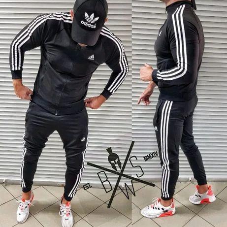 Спортивный костюм мужской осенний весенний Адидас Adidas Кофта Штаны