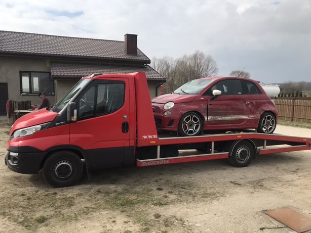 Pomoc drogowa Transport Aut Auto laweta Holowanie Płock