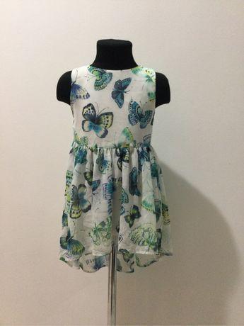 Детское летнее платье TU на девочку 4-5 лет 104-110 рост