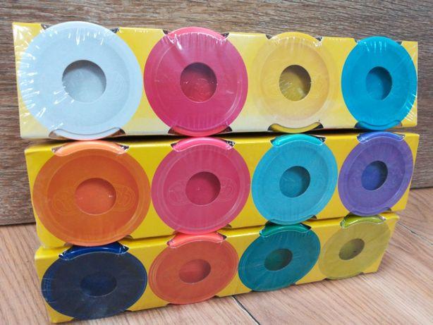 Nowy zestaw Play-Doh duża ciastolina 4 szt,edukacyjna masa plastyczna