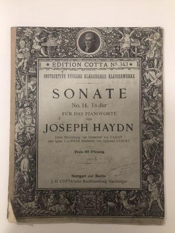 Nuty J. Haydn, z konca XIX wieku