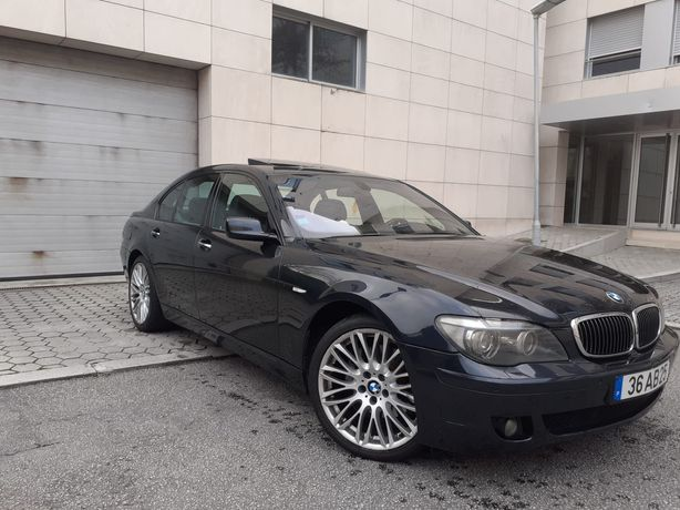 BMW 730LD individual 05 nacional 235cv impecável aceito troca