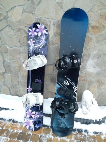 Deska Snowboardowa damska 147 cm męska 160 cm Okazja