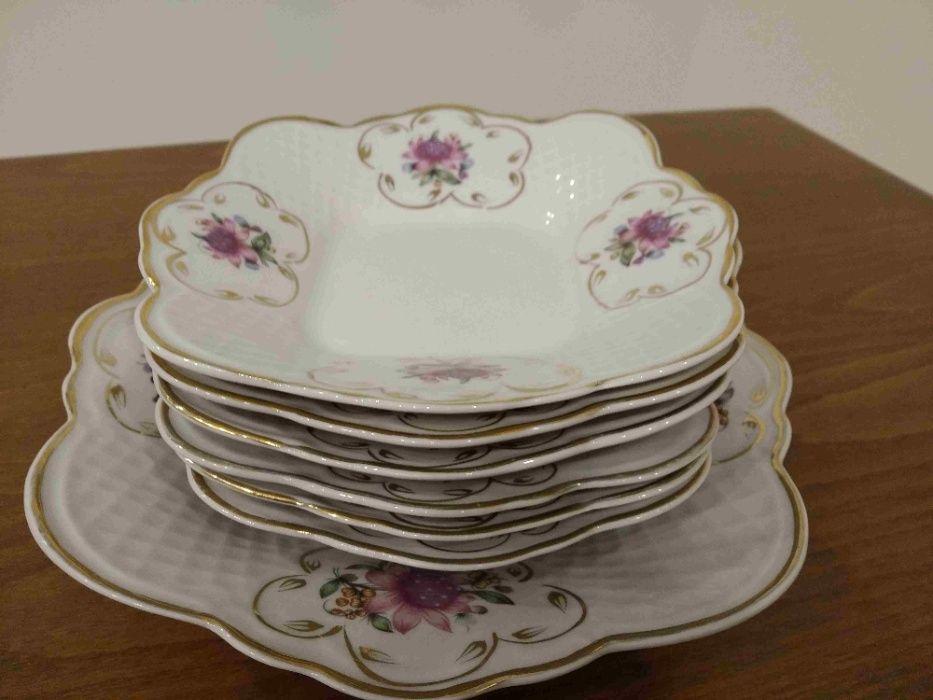 Продам набор тарелок для торта с блюдом Киев - изображение 1