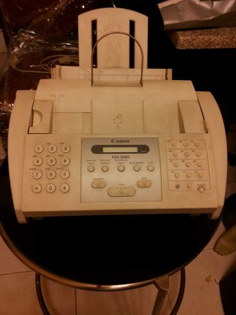 Fax + telefone + fotocopiadora Canon