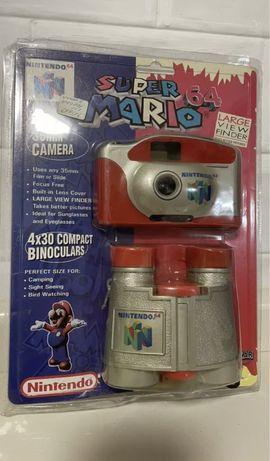 Nintendo 64 - camara e binoculos selado