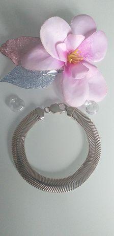 Piękna bransoletka srebrna