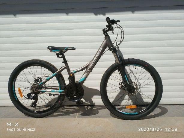 НОВЫЙ велосипед алюминий подростковый Кроссер Crosser 24 и 26 Shimano
