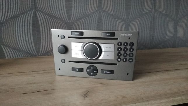 Radio DVD 90 Navi mp3 Aux Vectra C Oryginał