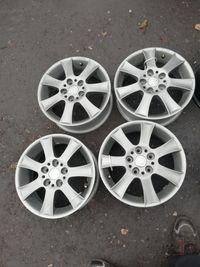 Ładne felgi aluminiowe 15 5x112 ET45 VW AUDI SEAT SKODA Mercedes