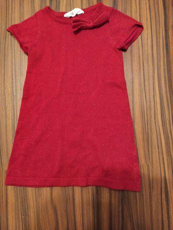 Używana sukienkę dziewczęca H & M rozmiar 98/104