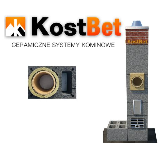 System Kominowy 8mb 200mm z wentylacją
