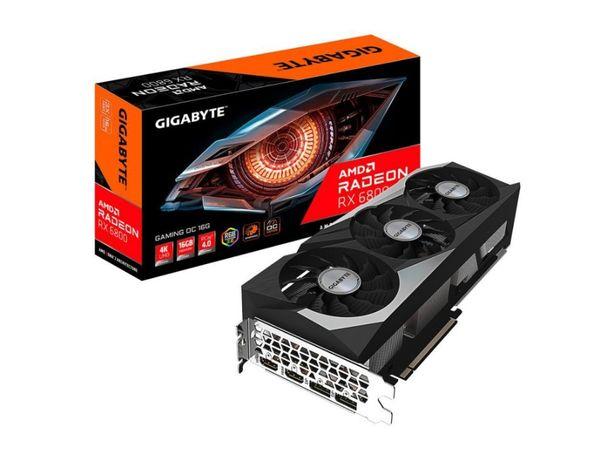 Видеокарта Gigabyte Radeon RX 6800 Gaming OC 16G
