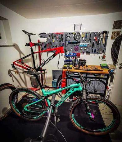 Reparações de bicicletas